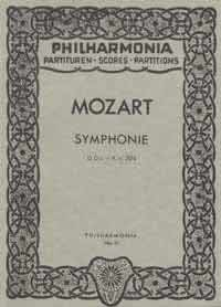 Symphony no.38 in D Major K 504 'The Prague' image
